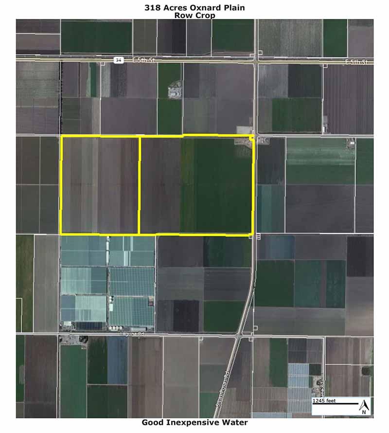 318 Acres, Oxnard Plain<br />Row Crops
